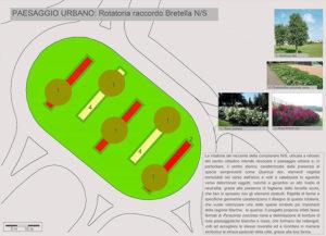 """Progetto """"5 paesaggi per 5 rotatorie"""": la rotatoria centrale della complanare (paesaggio urbano)"""