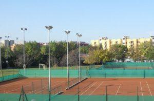 Impianti sportivi: i campi da tennis alle Saline di Senigallia