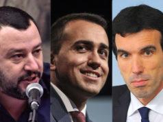 Matteo Salvini, Luigi Di Maio, Maurizio Martina