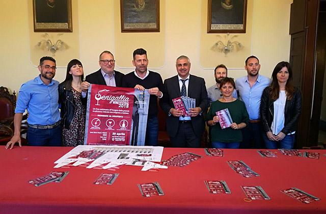 La presentazione di Senigallia Wine Festival 2018
