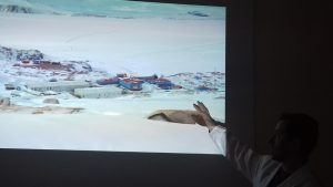 Una veduta della base italiana Mario Zucchelli nella Baia di Terra Nova sul Mare di Ross