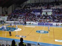 Un momento del match tra Ristopro Fabriano e Udas Cerignola