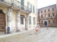 Palazzo Baldeschi - Balleani transennato