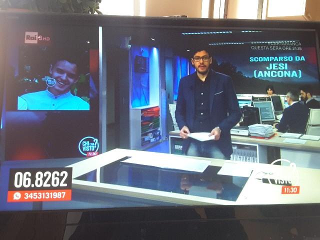 """Primo appello in tv per Anton sulla striscia quotidiana di """"Chi l'ha visto?"""""""
