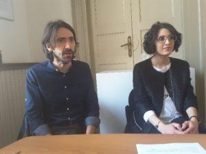 Stefano Squadroni e Giulia Badiali