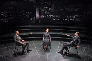 Lo spettacolo Copenaghen nella foto di Marco Caselli