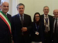 La delegazione jesina a Roma con il giudice Antonino Di Matteo