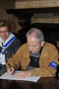 Il presidente dell'Avulss Domenico De Giorgio