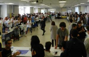 """Un momento dell'iniziativa """"Impara ad intraprendere"""" all'interno della sede di Confindustria Marche Nord ad Ancona"""