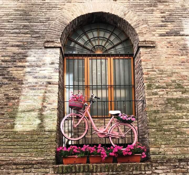 Un angolo del centro storico di Osimo