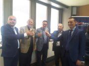 Da sinistra: Giuliano De Minicis, Nicola Di Francesco, Roberto Campelli, Pietro Rotoloni e Nunzio Tartaglia