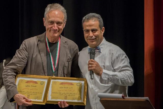 Luca Butini e Whabi Youssef