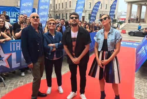 Italia's got Talent ad Ancona: il red carpet della giuria
