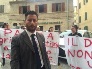 L'avvocato Marco Valerio Verni, zio di Pamela