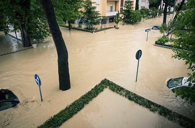 L'alluvione di Senigallia del 3 maggio 2014