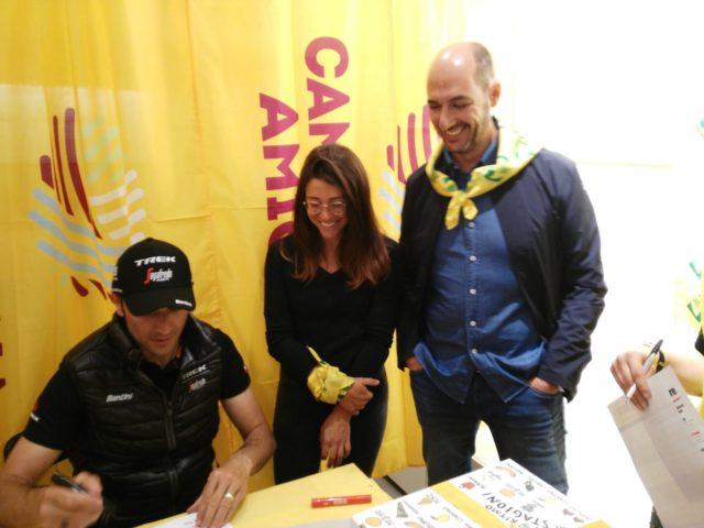 Ivan Basso alla Coldiretti