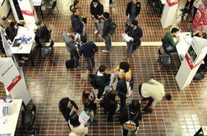 Studenti al Career day in una precedente edizione