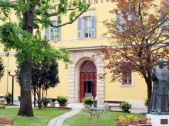 """La casa di riposo per anziani """"Stabilimento Pio"""" di Senigallia, gestito dalla Fondazione Opera Pia Mastai Ferretti"""