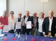"""Il """"contratto"""" firmato dalle forze di centrodestra per Senigallia"""
