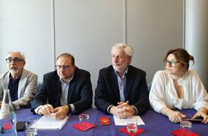 Luigi Rebecchini, Roberto Paradisi, Daniele Belardinelli e Marta Torbidoni