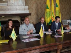 Coldiretti a Osimo per le iniziative durante il Giro D'Italia