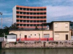 L'edificio ex Gencimar al porto di Senigallia
