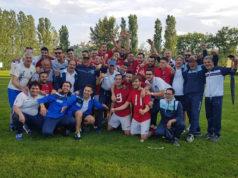 La festa della Castelleonese dopo la promozione in Prima Categoria