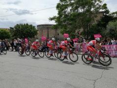 Il passaggio del Giro d'Italia 2018 a Senigallia