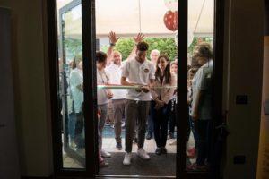 L'inaugurazione del laboratorio di San Paterniano ad Osimo