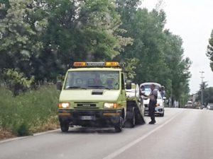 incidente via Ancona