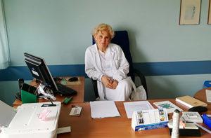 L'ex primario di pediatria all'ospedale di Senigallia Luciana Migliozzi