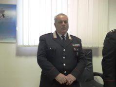 Il luogotenente Pasquale Cerfolio comandante della Stazione di Staffolo