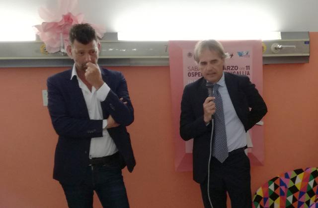 Maurizio Mangialardi e Maurizio Bevilacqua