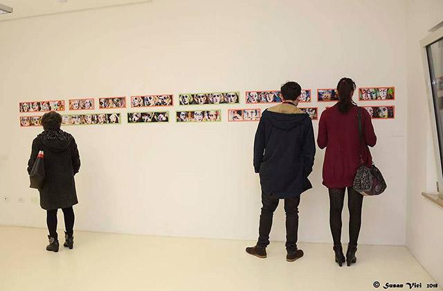 """La mostra al Museo Nori de' Nobili di Trecastelli intitolata """"Nori, il volto"""". Foto di Susan Vici"""