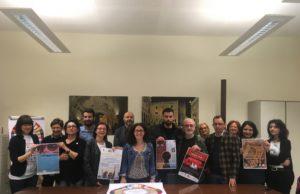 I vari organizzatori e responsabili della Rassegna, insieme all'assessore Ilaria Venanzoni