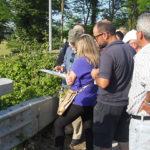 Il sopralluogo sul fiume Misa per le vasche di espansione
