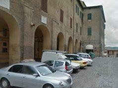 Piazza Spontini a Jesi