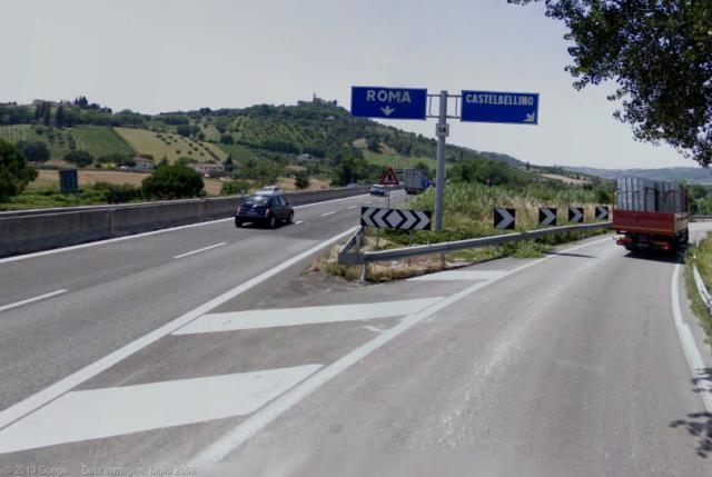 superstrada 76