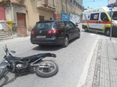 L'incidente in via Roma