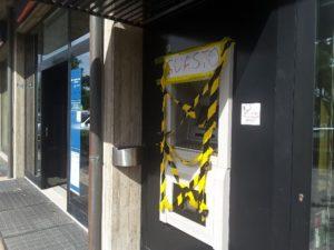 bancomat assaltato