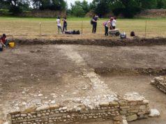Uno degli scavi portato avanti dall'università di Macerata