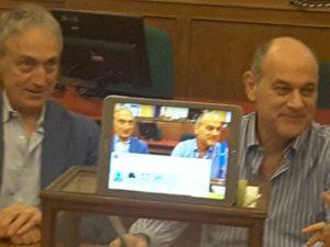 LLuca Butini e Massimo Bacci