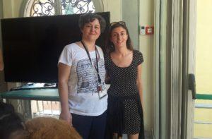 Romina Quarchioni e Sara Capriotti