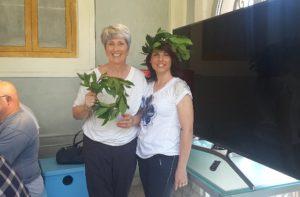Giovanna Bedetti, di Santa Maria Nuova, e Sara Moroni, di Chiaravalle