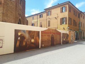 recinzione piazza pergolesi