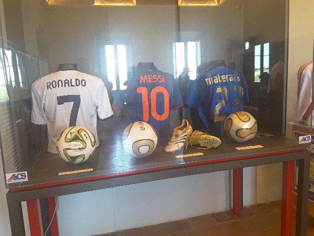 La mostra sulla storia del calcio