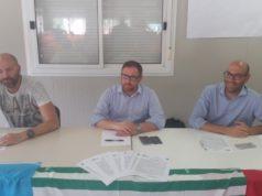 Nella foto: da sin. Andrea Casini, Luca Tassi e Daniele Boccetti