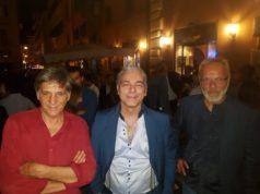 Da sinistra: Stefano Esposito, Davide Zannotti e Paolo Torella