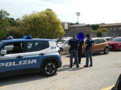 Il parcheggiatore abusivo sorpreso dalla Polizia in Piazza D'Armi