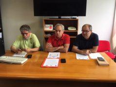Nella foto da sin.: Graziano Fioretti, Marco Bastianelli e Alessandro Mancinelli